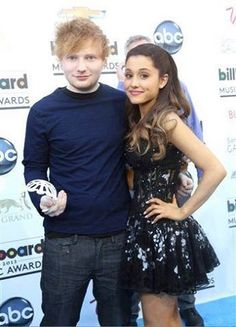 Ed Sheeran and Ariana Grande | Billboard Music Awards 2013 #BBMA