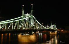 Liberty Bridge Liberty Bridge, Tower Bridge, Hungary, Budapest, Travel, Viajes, Trips, Traveling, Tourism