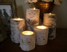 Log Candles | Candle Store: Cheap Candles, Candle Holders and Accessories