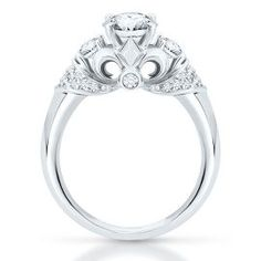The Artiste Regal Engagement Ring by Scott Kay in 14K Gold - Artiste Regal - Artiste by Scott Kay - Collections - Helzberg Diamonds