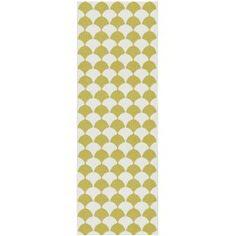 Brita Sweden Gerda Plastic In- & Outdoor Runner order favourable online Sweden, Modern, Rugs, Yellow, Design, Stark, Home Decor, Mini, Image