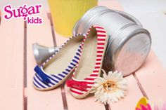 Espadrille flats from Sugar Kids in the best hues of summer! Exclusively available at The SM Store SM City Manila. - Sugar Kids and Tough Kids Shoes