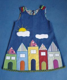 Best Picture For toddler girl outfits rain For Your Taste You are looking for something, and it is g Toddler Girl Outfits, Little Dresses, Little Girl Dresses, Toddler Dress, Kids Outfits, Baby Dress Design, Baby Dress Patterns, Patchwork Dress, Baby Sewing
