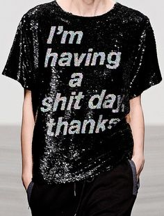 would love to have this shirt!