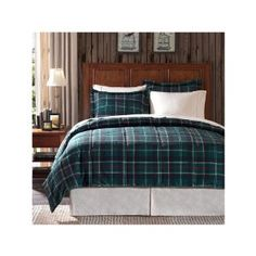 Take A Look At This Blue Amp Green Plaid Brynn Comforter Set