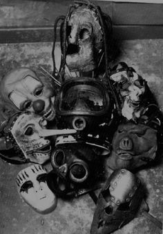 SLIPKNOT: I LOVE THESE masks!! Back to when I was a young teenager and listened to a lot of Slipknot, my favorite members were Sid and Chris. My best friend's were Craig and Jim. That was before everybody had a computer. We spent hours speculating on what they could possibly look like.