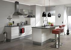Best Kitchen Islands Designs: Silver Kitchen Islands Designs ~ interhomedesigns.com Kitchen Designs Inspiration