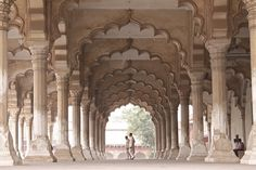 Loving the Indian Architecture: Diwan-i-Aam Hall at the Agra Fort, Agra, Uttar Pradesh, India - Flickr - Photo Sharing!