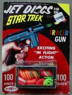 Star Trek 1970s Toys | Star Trek Tracer Gun by Rayline at CollectToys.Net