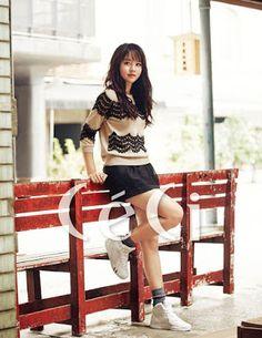 Kim So Hyun - CeCi October 2015