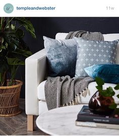 Like Instagram, Accent Chairs, Cushions, Throw Pillows, Style Inspiration, Photo And Video, Bed, Furniture, Home Decor