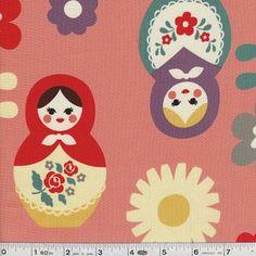 Russian Doll: Fabric