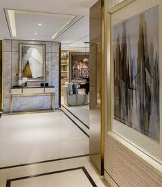 Fresh and Elegant Minimal Living Room Ideas Interior Exterior, Luxury Interior, Luxury Furniture, Interior Architecture, Foyer Design, House Design, Contemporary Home Decor, Modern Decor, Classic Interior