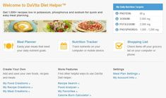 Updated: Online tools for the kidney diet