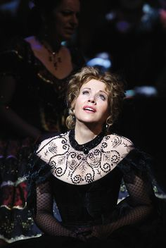 Renee Fleming in Royal Opera House's production of La Traviata, originally directed by Richard Eyre and designed by Bob Crowley in 1994.