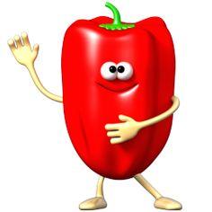 Sticker Fruigolo poivron rouge