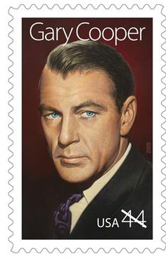 USPS honors cowboy-actor Gary Cooper on 44-cent stamp