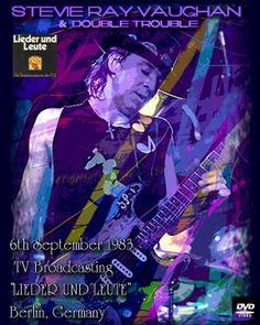"""stevie ray vaughan images   Stevie Ray Vaughan & Double Trouble 1983-09-06 TV Broadcasting """"Lieder ..."""