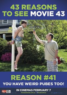 Movie 43 - In Australian cinemas February Movie 43, See Movie, Laughter, February, Cinema, Film, Tv, Movie, Movies