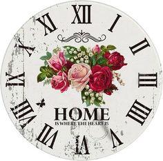 18 Pines más para tu tablero reloj Clock Art, Diy Clock, Paper Clock, Clock Face Printable, Clocks Inspiration, Clock Template, Happy Birthday Vintage, Unusual Clocks, Art Deco Watch