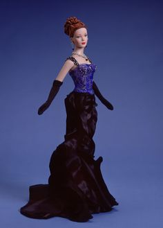 Black Orchid (2002) DRESSED DOLL  LE 500 BA Style Neiman Marcus / Horchow Exclusive
