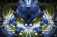 Just a heart ... by =Brigitte-Fredensborg on deviantART