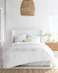 Living Room Home Decor .Living Room Home Decor Home Decor Sites, Cheap Home Decor, White Home Decor, Linen Duvet, White Bedding, All White Bedroom, White Bedrooms, Cottage Bedrooms, Bedding Sets