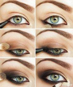 Defined smokey eye tutorial