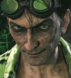 The Riddler in Batman Arkham Knight. Can't wait for this one. Batman Arkham Games, Batman Arkham Knight, Arkham City Riddler, Dc Comics, Ps4 Or Xbox One, Ike And Tina Turner, Arkham Asylum, Two Faces, Charades