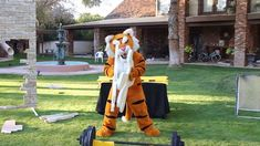 """""""How To Mascot"""" skit -The Tiger"""