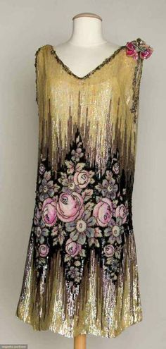 Augusta Auctions, 1920s sequined gown