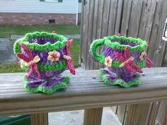Crochet custom friendship cups