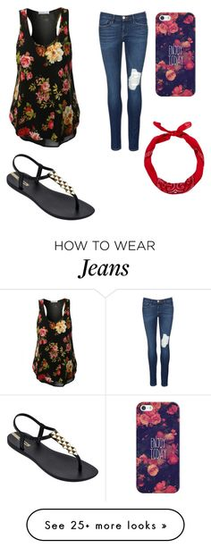 """""""Summer shopping"""" by gretchenlover on Polyvore featuring Frame Denim, IPANEMA, Casetify and New Look"""