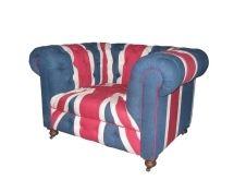 Bensington 1 Seater - Vintage Union Jack