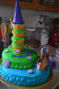 With Love and Pickles: Tasty Tuesday - Rapunzel Cake