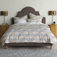 Scallop Duvet Set by DwellStudio