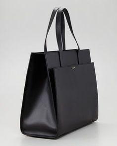 3c99b62d9f6c Saint Laurent Flat Shopping Tote Bag