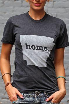 The Home. T - Arkansas Home T, $25.00 (http://www.thehomet.com/arkansas-home-t-shirt)