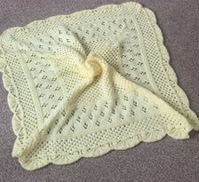 *PRIMROSE* baby blanket knitting pattern available from my etsy store HoneyBeeBears Crochet Yarn, Knitting Yarn, Knitting Needles, Blanket Shawl, Baby Shawl, 4 Ply Yarn, Aran Weight Yarn, Knitted Baby Blankets, Paintbox Yarn