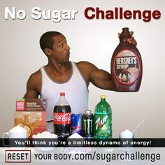 10 Day No Sugar Challenge: This will help your energy explode through the roof!
