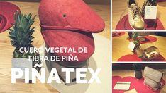 Piñatex es un cuero vegetal innovador hecho de los residuos de las fibras de hoja de piña que se producen en el proceso de cosecha.   Este material de fibra de piña ofrece una alternativa ecológica, sostenible y real al cuero animal.