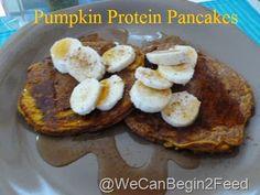 Power-loaded Pumpkin Protein Pancakes