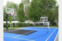 Backyard Basketball Courts Photo Gallery – Sport Court West