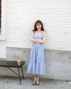 K Daily 2018 style Korean Fashion Trends, Korean Girl Fashion, Ulzzang Fashion, Korea Fashion, Asian Fashion, Trendy Fashion, Womens Fashion, Style Fashion, Korea Dress