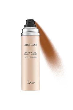 """Makeup artist and YouTuber Wayne Goss will be the first to tell you that he owns a """"vast amount of foundations."""" This one, though, is one of his favorites. """"It looks like you've been airbrushed, like you've been retouched,"""" he said in a video. He recommends spraying a bit of it directly onto your foundation brush before buffing or stippling the product over your face. The result? Pure flawlessness.  Dior AirFlash Spray Foundation, $62, available at Dior."""