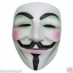 V FOR Vendetta Anonymous Movie Adult Guy Mask Halloween Cosplay Christmas Gift - http://pandorasecretsonline.com/v-for-vendetta-anonymous-movie-adult-guy-mask-halloween-cosplay-christmas-gift/
