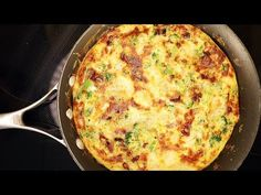 The world's finest egg dish also requires the least technique. Thanks to Skillshare for Sponsoring this video! Get two months of Skillshare Premium for FREE . Perfect Eggs, Egg Dish, How To Cook Eggs, Frittata, Low Carb Recipes, A Table, Dinner Recipes, Vegetarian, Make It Yourself