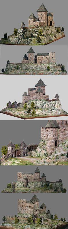 CoolMiniOrNot - Boldogkö castle by Geridevil