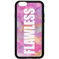 FLAWLESS iPhone 6 Case ($35) ❤ liked on Polyvore featuring accessories, tech accessories, phone cases, phone, cases and iphone