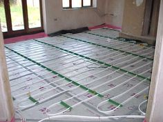 The concept of underfloor heating is not a new one. It is known that smoke channelled through covered trenches was used to heat the stone floors of dwellings as far back as 5000 BC.
